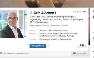 Opvallen met coole tekens op je LinkedIn profiel